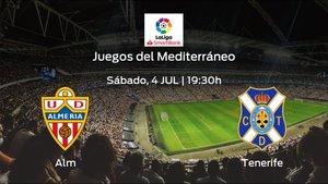 Previa del partido: Almería - Tenerife
