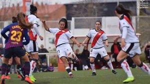 El Rayo salió en defensa de su jugadora Sheila García