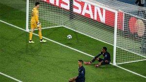 El Real Madrid ofreció una pobre imagen en París