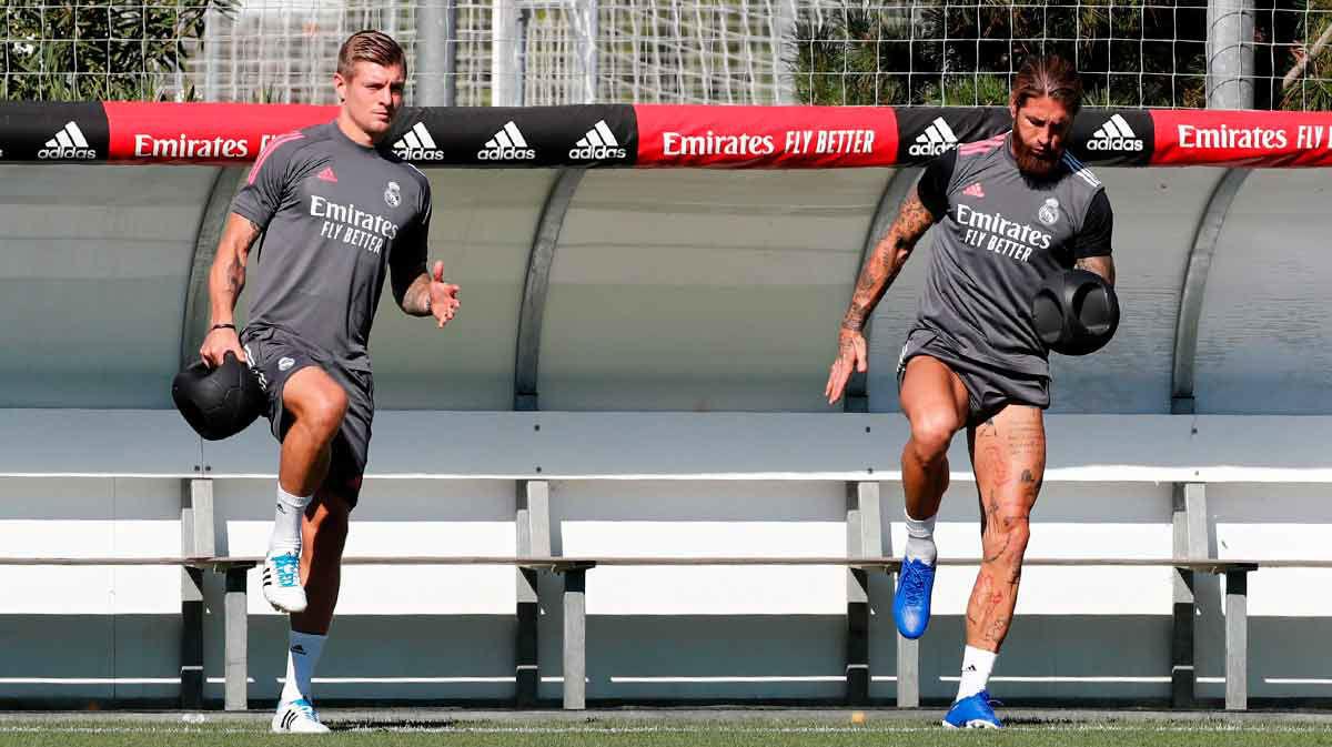 El Real Madrid recupera a los internacionales