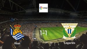 Real Sociedad drop points against Leganés1-1 at Reale Arena
