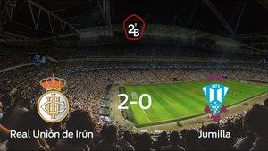 La Real Unión de Irún gana la final de los playoff y consigue la permanencia en Segunda B (2-0)