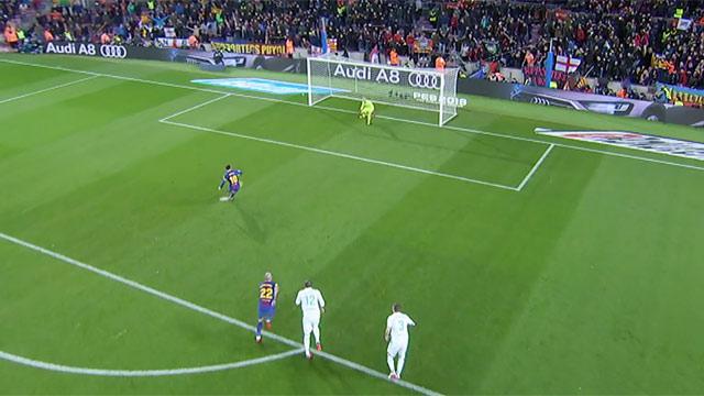 Rubén se avanzó antes de hora... y Messi falló un penalti (ES)