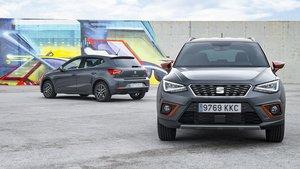 Seat Arona, el segundo modelo más vendido de la marca en España en septiembre.