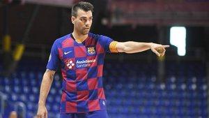 Sergio Lozano, el sábado en el amistoso contra Osasuna Magna