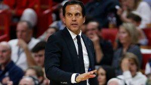 Spoelstra asume que su equipo ha tenido poco descanso tras las finales de la NBA