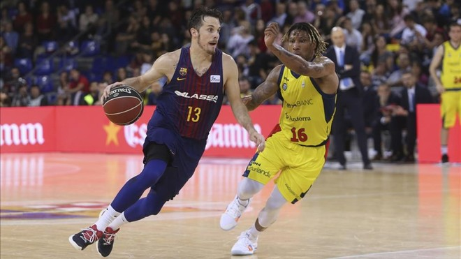Siga en directo el Barça Lassa - MoraBanc Andorra