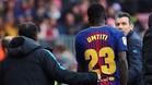 Umtiti, jugador del Barcelona
