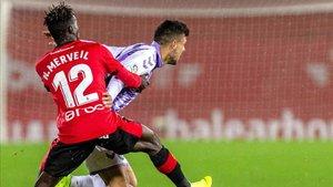 El Valladolid encarriló la eliminatoria en Son Moix