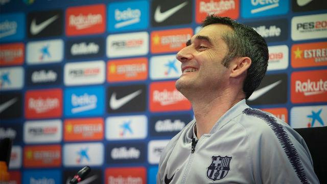 Valverde: El del Valladolid es el partido perfecto para ganar