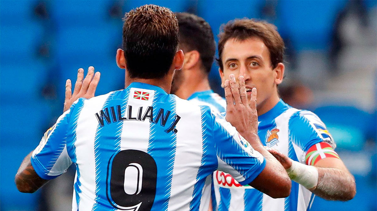 Willian José puso en tablas el marcador ante el Espanyol