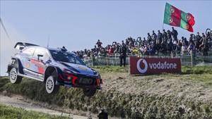 Neuville, en la última etapa del Rally de Portugal