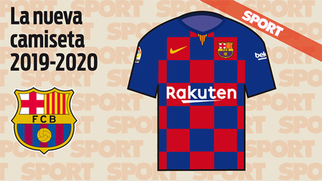 e9176338612df SPORT EXCLUSIVE  Barcelona's home shirt next year to take new directio