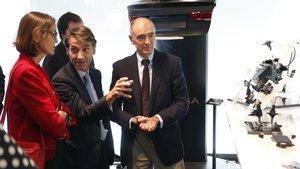 HUb electromoviliad de Ficosa. Reyes Maroto y Javier Pujol.