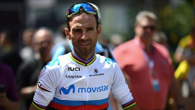 Valverde llevará el dorsal número 1 en La Vuelta