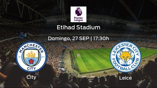 Previa del encuentro: el Leicester City defiende su liderato ante el Manchester City