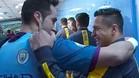 Alexis le preguntó a Bravo por la camiseta de Gündogan
