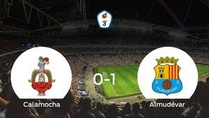 El Almudévar se lleva tres puntos a casa tras vencer 0-1 al Calamocha