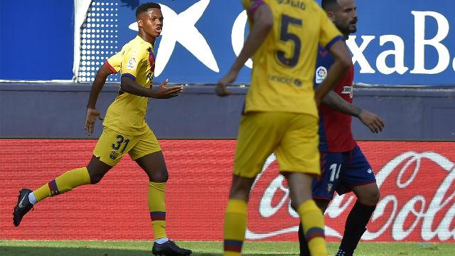 Ansu Fati o el día que el Barça resucitó gracias a un chico de 16 años