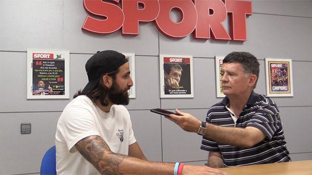 Así ha sido la visita de Ricky Rubio a la redacción de SPORT