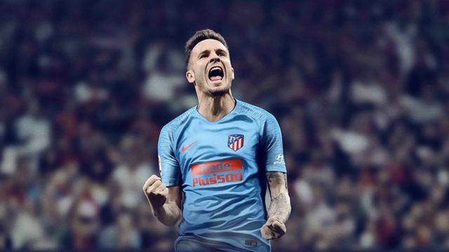El Atlético de Madrid presenta su segunda equipación para el curso 18/19