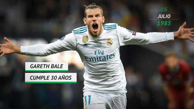 Bale cumple 30 años y espera resolver pronto su futuro en el Real Madrid