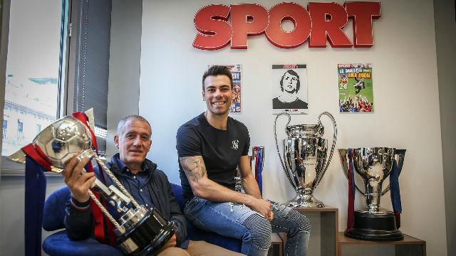 El Barça Lassa visita SPORT tras ganar la Copa de España