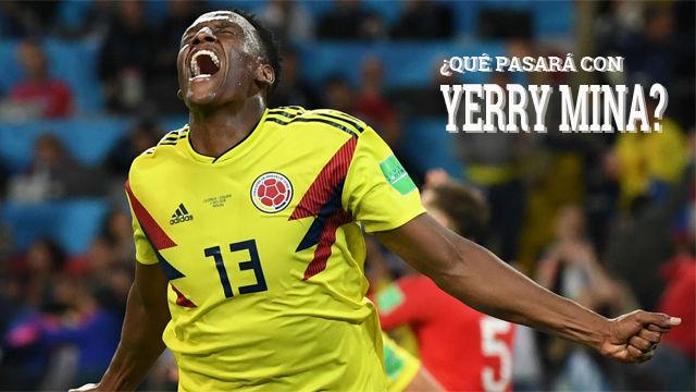 El Barça medita qué hacer con Yerry Mina