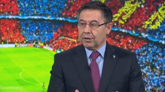 Bartomeu: Queremos a Messi como una leyenda en el futuro