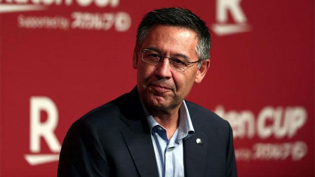 Bartomeu: Será la primera vez que veamos a Griezmann o De Jong con la camiseta del Barça