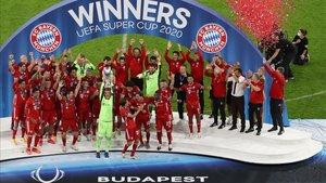 El Bayern se impuso al Sevilla en Budapest