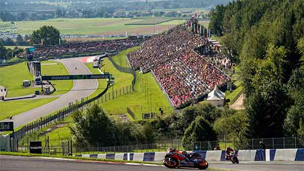 El circuito de Red Bull Ring del GP de Austria de MotoGP (ES)