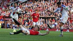 El Crystal Palace sorprendió al United