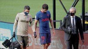 Diego Costa, baja contra el Bayern