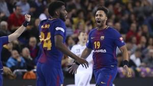Dika Mem y NGuessan, dos pesos pesados del Barça Lassa