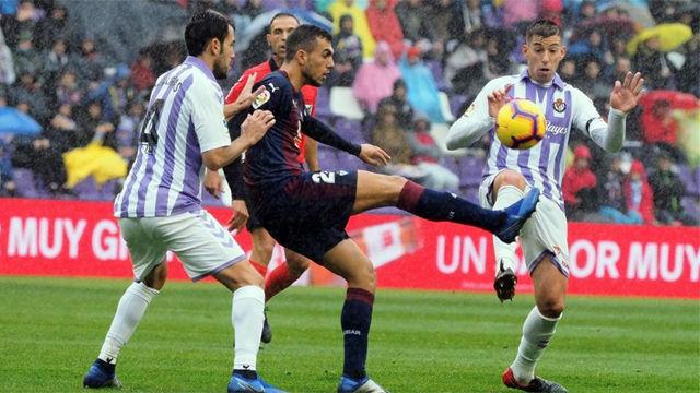 Empate sin goles entre Valladolid y Eibar