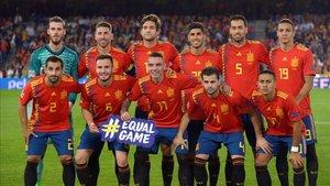 España no pudo remontar ante Inglaterra tras una primera parte nefasta