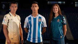 Estas son las nuevas camisetas del Espanyol 2020 / 2021