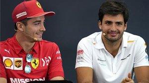 La familia Ferrari ya admira a Carlos Sainz