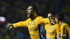 Gignac marcó tres goles para los Tigres