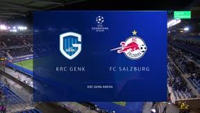 Goleada del Salzburgo en Genk