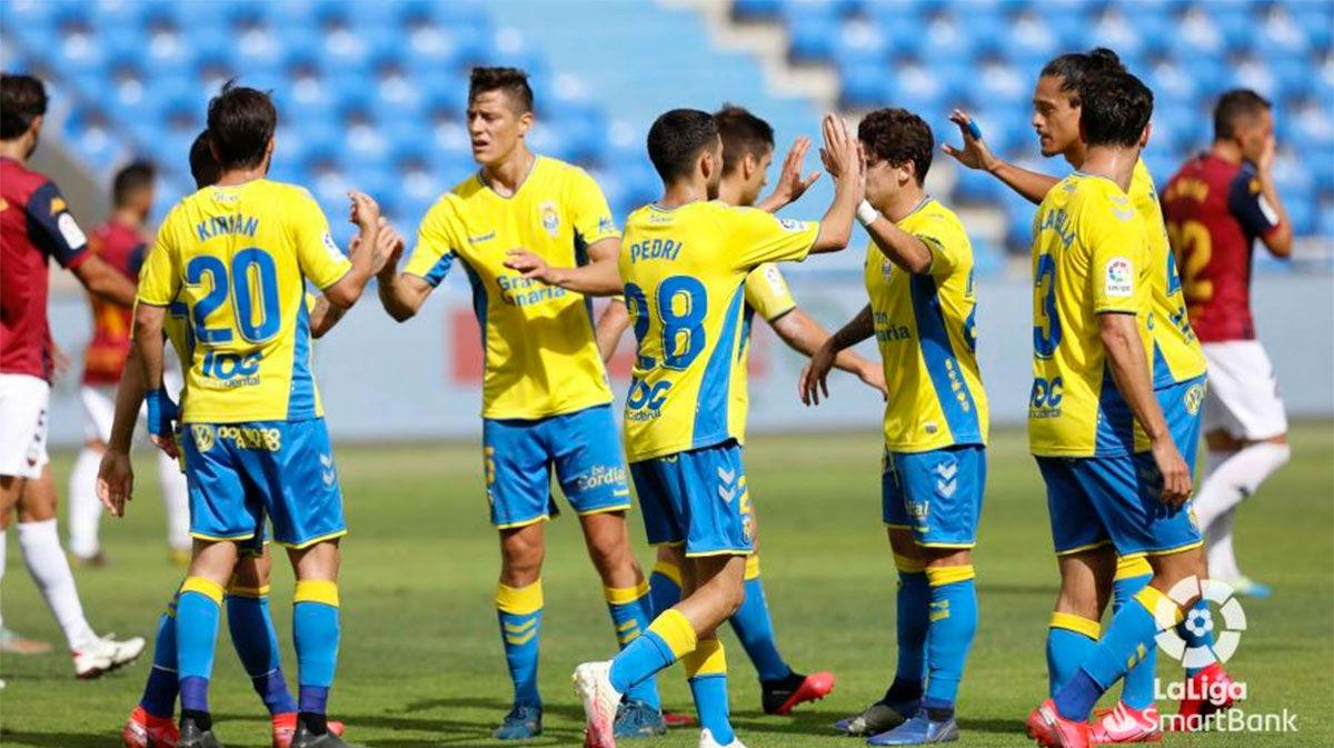 Goleada de Las Palmas ante el Extremadura