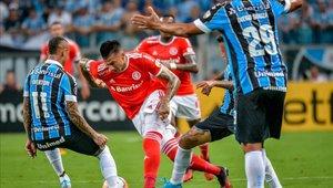 Gremio e Inter igualaron en e clásico de Porto Alegre