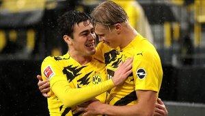 Haaland y Reyna, dos de las estrellas del Dortmund