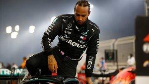 Hamilton dio positivo tras el GP de Bahrein