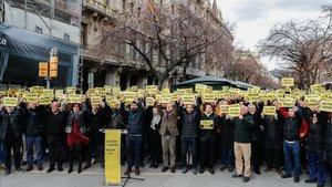 Hasta 200 personas han reclamado el 1% de los presupuestos de la Generalitat para el deporte