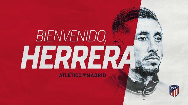 Héctor Herrera, nuevo jugador del Atlético