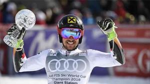 Hirscher ganó su séptimo título mundial