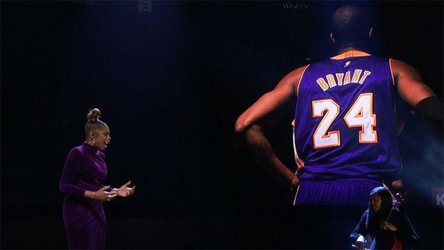 El homenaje de Kobe Bryant en el All Star