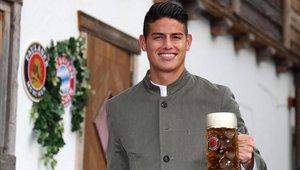 James Rodríguez no está teniendo los minutos que quisiera en el Bayern Munich